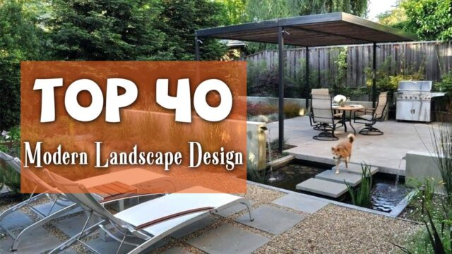 Top 40 Best Modern Landscape Design Ideas | Modern Garden Style
