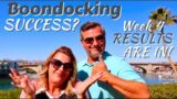 30 Day Arizona Desert RV Boondocking | RESULTS [Full Time RV Living]