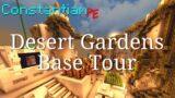 Constantiam PE – Desert Gardens Base Tour