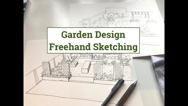 Garden Design Drawing – Sketching Designs by Hand