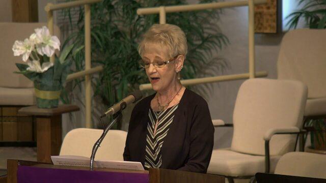 Desert Garden Worship Service February 28, 2021