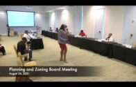 Planning and Zoning Meeting August 26, 2021
