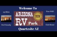 Arizona Sun RV Park…Arizona Quartzite