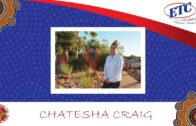 ETC helped Chatesha find a job at Ayers Rock Resort