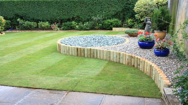 Garden Design Ideas For Small Triangular Gardens : Garden design for small gardens landscape ideas