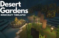 Desert Garden | Minecraft Timelapse Inspiration