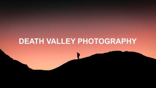 Epic Desert Landscape Photography in Death Valley POV