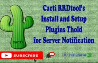Cacti RDDTool installation and settings plug-in Thold | # Cactus#