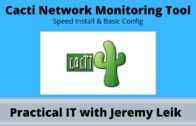 Cactus Network Monitoring: Basic Installation (2020)