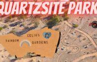 Celia's Rainbow Garden Quartz Stone Town Park Tour