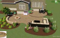 Ideas for landscaping around concrete terraces (see description)