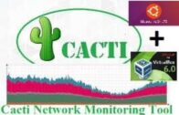 Kara installs Cactus network monitoring-Mengunakan Virtual Box Dan Ubuntu Server