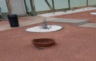 Slope Concrete Steps   Frontyard Desert Landscaping Ideas Pt 4
