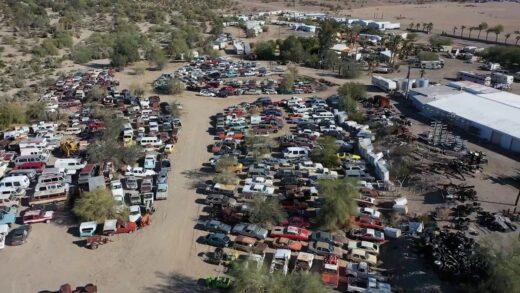 You can buy desert gems!Desert Garden Classic Car Dealership