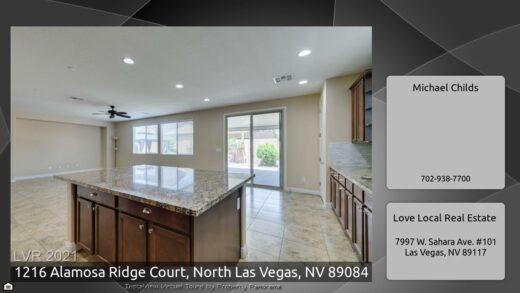 1216 Alamosa Ridge Courthouse, North Las Vegas, Nevada, 89084