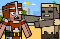 Desert Zombies and Cactus Canyon | Minecraft Animation (Cube Squad)