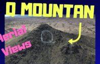 Q Mountain Quartzsite Intaglios…Aerial view