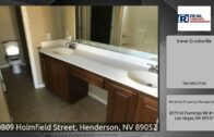 10809 Homefield Street, Henderson, Nevada 89052