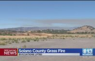 Compulsory evacuation order lifted after fire near Vacaville