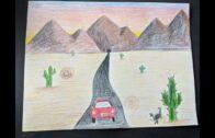 Desert Landscape Part 2: Coloring!
