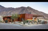 Desert fence guardhouse in Coachella Valley, California