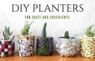 🌵 Five flower pots/flower pot ideas using recycled materials |