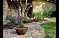 Gravel Garden Design Idea