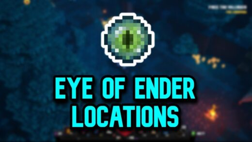 How to find all 6 eyes of ender in Minecraft