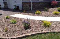 Low-maintenance landscape design concept for Gettysburg forecourt-Ryan's Landscaping