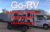Quartzsite, AZ Ancient Indian footprint GPS: 33° 34.658N 114° 20.158W