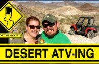 SpotTheScotts: All-terrain vehicles in the desert! Quartzsite, AZ Boondocking ~