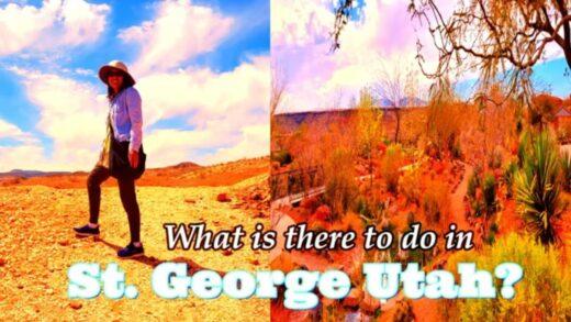 St. George, Utah | Glittering Mtn and Red Mountain Desert