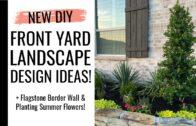 new! Summer front yard landscape design concept! | Summer flowers