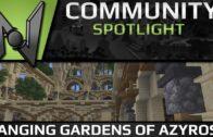 Community Spotlight: Azyros Sky Garden | Minecraft Build
