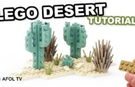 EASY LEGO desert landscape [Tutorial! – Instructions]