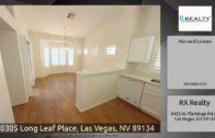 10305 Longleaf Plaza, Las Vegas, Nevada 89134