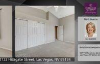2132 Hillsgate Street, Las Vegas, Nevada 89134