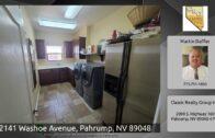 2141 Washoe Avenue, Pahrump, NV 89048