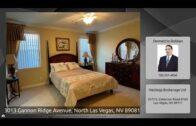 3013 Gannon Ridge Blvd, North Las Vegas, Nevada, 89081