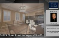 3245 Elk Clover Street, Las Vegas, Nevada 89135