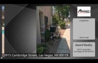 3915 Cambridge Street, Las Vegas, Nevada 89119