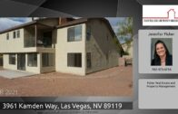 3961 Camden Road, Las Vegas, Nevada 89119
