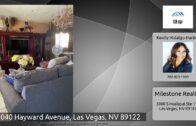 5040 Hayward Avenue, Las Vegas, Nevada 89122