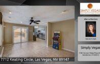 7712 Keating Circle, Las Vegas, NV 89147
