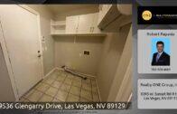 9536 Glengarry Boulevard, Las Vegas, Nevada 89129