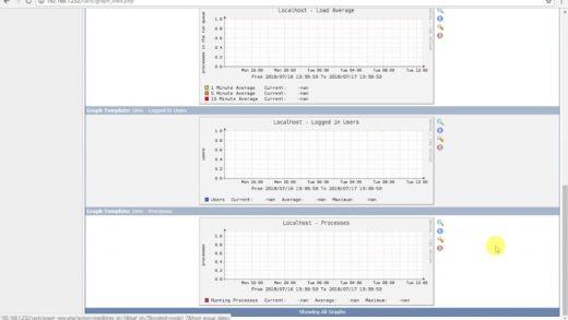 Agregar un hosts y crear gráficos en CACTI