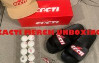 CACTI MERCH Unboxing: Hat Key Chain Ping Pong Ball and