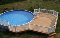 [Modern Backyard]  The best backyard ideas with an above-ground pool [Small Backyard Ideas]