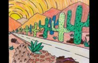 What can you grow in the desert gardens in District 9b in May