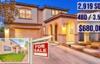 Upgraded 2,919 sq. ft. West Summerlin home for sale-Las Vegas